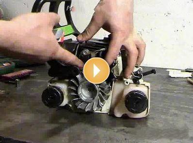 Ремонт бензопил штиль 180 своими руками фото
